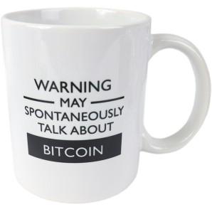 Bitcoin Warning Mug