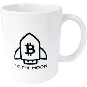 Kubek BITCOIN To The Moon