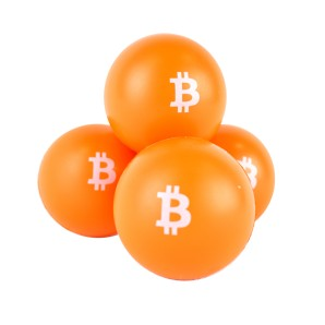 10x Bitcoin Anti-stress balls