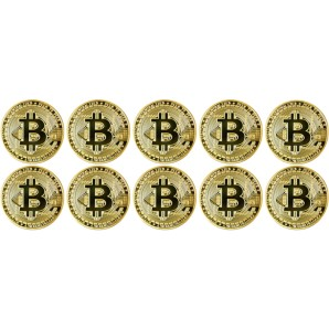 10x Bitcoin Collector's...