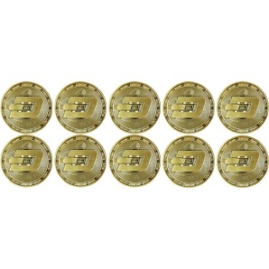 10x Dash Collector's coins...