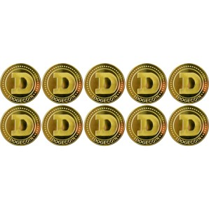 10x Dogecoin Collector's...