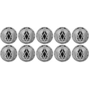 10x Moneta EOS Srebrna