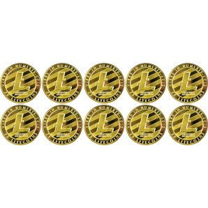 10x Litecoin Collector's...