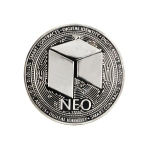NEO Collector's coin silver
