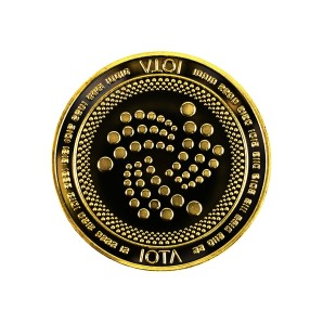 IOTA Collector's coin gold