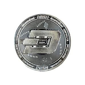 Moneta Dash srebrna