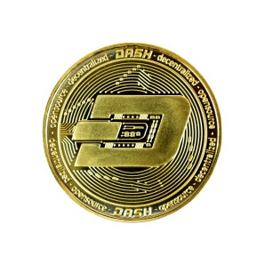 Dash Collector's coin gold