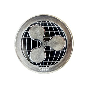 Ripple Collector's coin silver