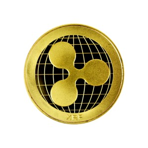 Ripple Collector's coin gold