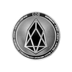 EOS Collector's coin silver
