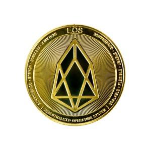 Moneta EOS złota