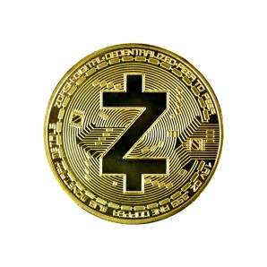 ZCash Collector's coin gold