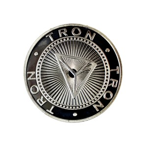 Tron Collector's coin silver