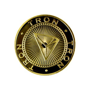 Tron Collector's coin gold