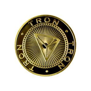 Tron Collector's coin gold