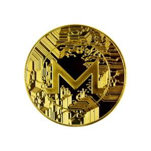 Moneta Monero złota