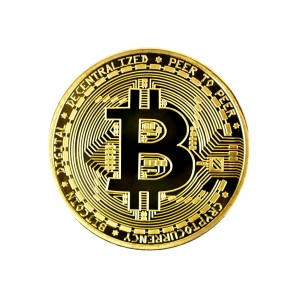 Bitcoin Collector's coin gold