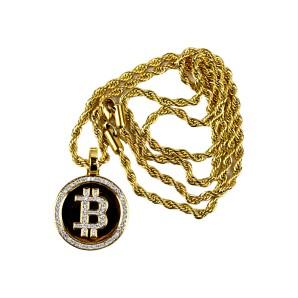 Naszyjnik Bitcoin