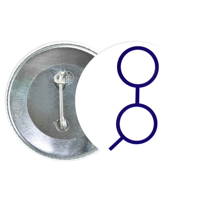 Przypinka aluminiowa Golem