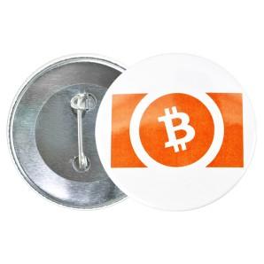 Przypinka Bitcoin Cash