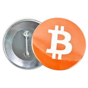 Przypinka Bitcoin