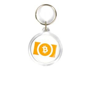 Bitcoin Cash Acrylic Keyring