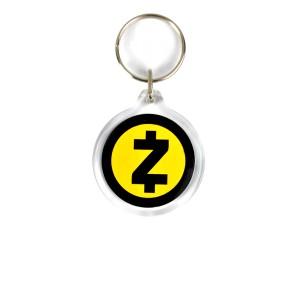 ZCash Acrylic Keyring