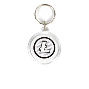 Litecoin Acrylic Keyring