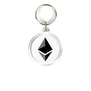 Ethereum Acrylic Keyring