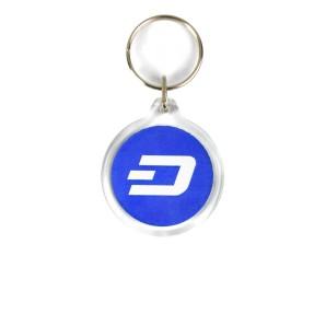 Dash Acrylic Keyring