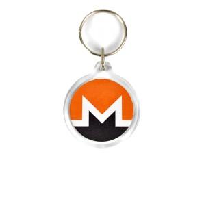 Monero Acrylic Keyring