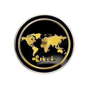 Moneta Ripple złoto-srebrna