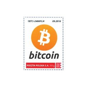 9x Znaczek Bitcoin 1 BTC...