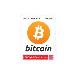 9x Bitcoin Stamp 1 BTC 09/2017