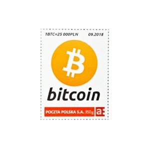 9x Bitcoin Stamp BTC 09/2018