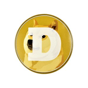 10x Dogecoin Stickers