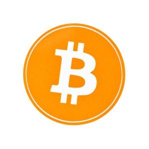 10 x naklejka Bitcoin