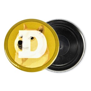 Dogecoin Fridge magnet