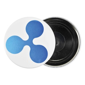 Ripple Fridge magnet
