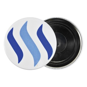 Steem Fridge magnet