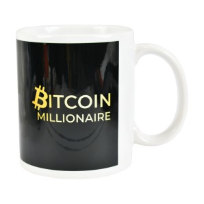 Bitcoin Millionaire Mug