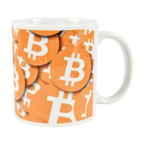Kubek Bitcoin wzór 7