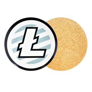 Podkładka pod kubek Litecoin