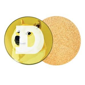 Dogecoin Beer Mat
