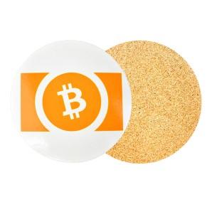 Podkładka pod kubek Bitcoin...