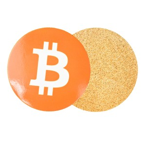 Bitcoin Beer Mat