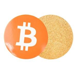 Podkładka pod kubek Bitcoin