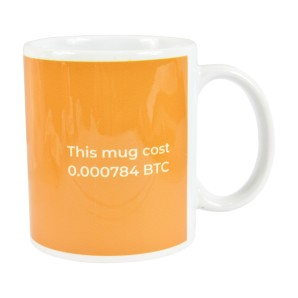 Keep calm and mine Bitcoin Mug