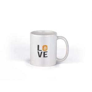 Kubek Love Bitcoin wzór 1